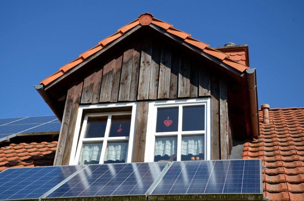 Dachfläche, Photovoltaik